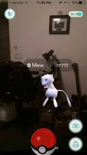 Mew telah tertangkap di Pokemon GO?