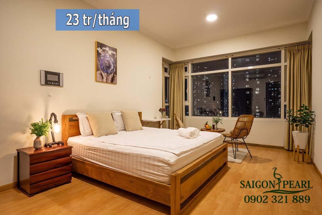 Căn hộ 2 phòng ngủ cao cấp Saigon Pearl cho thuê