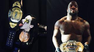 TNA - Moose y Rosemary se coronaron en el último Impact Wrestling