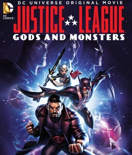 Justice League: Gods and Monsters [2015] [DVDR] [NTSC] [Custom] [Latino]