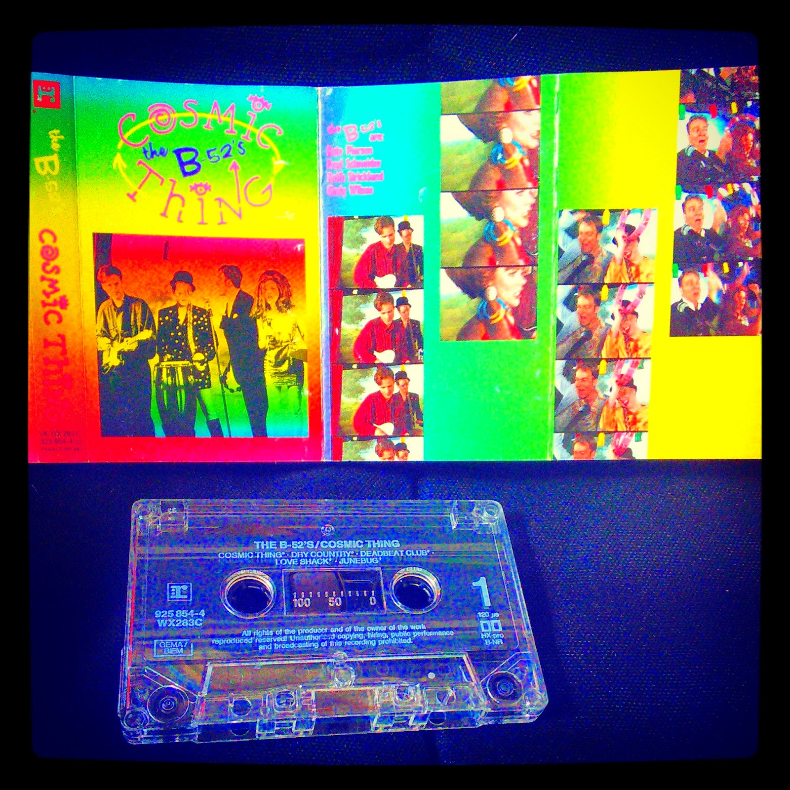 B-52's Cosmic Thing 25 years old today  k7 audio