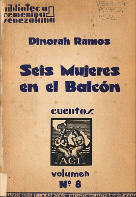 Carátula de: Seis mujeres en el balcón (Dinora Ramos - 1943)