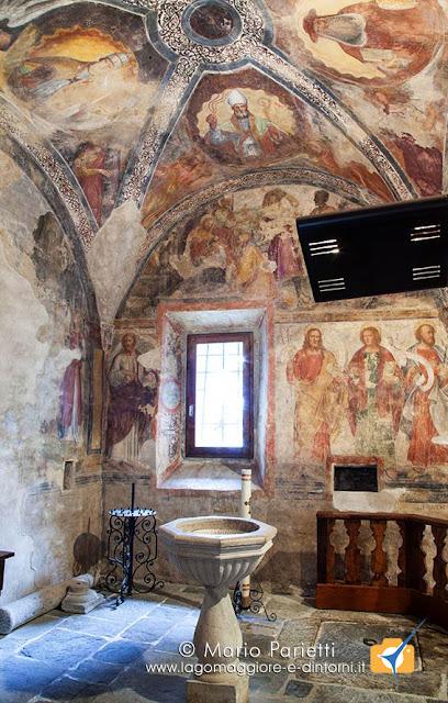 Affreschi della chiesa di sant'Antonio abate a Viconago