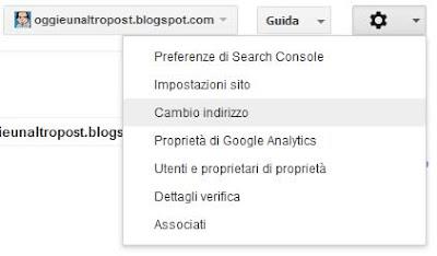 segnalare a Google lo spostamento di un sito