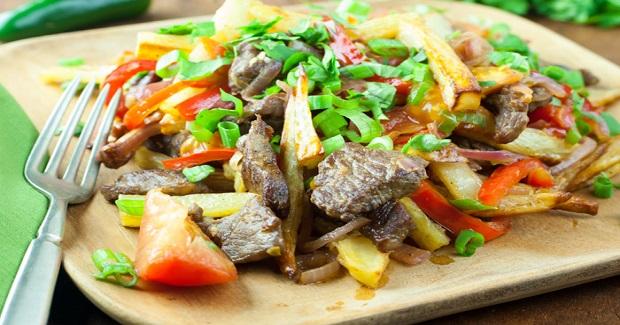 Lomo Saltado- Peruvian Beef Stir-Fry Recipe