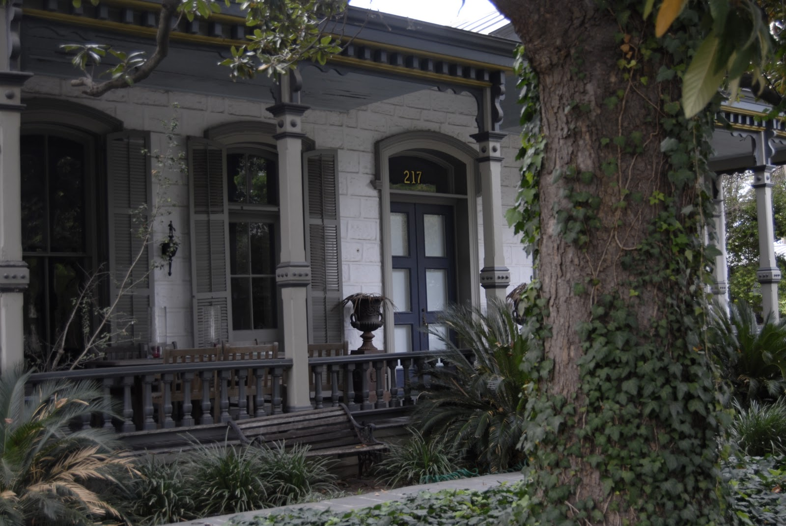 Savoring Servant Front Porches On Old Homes