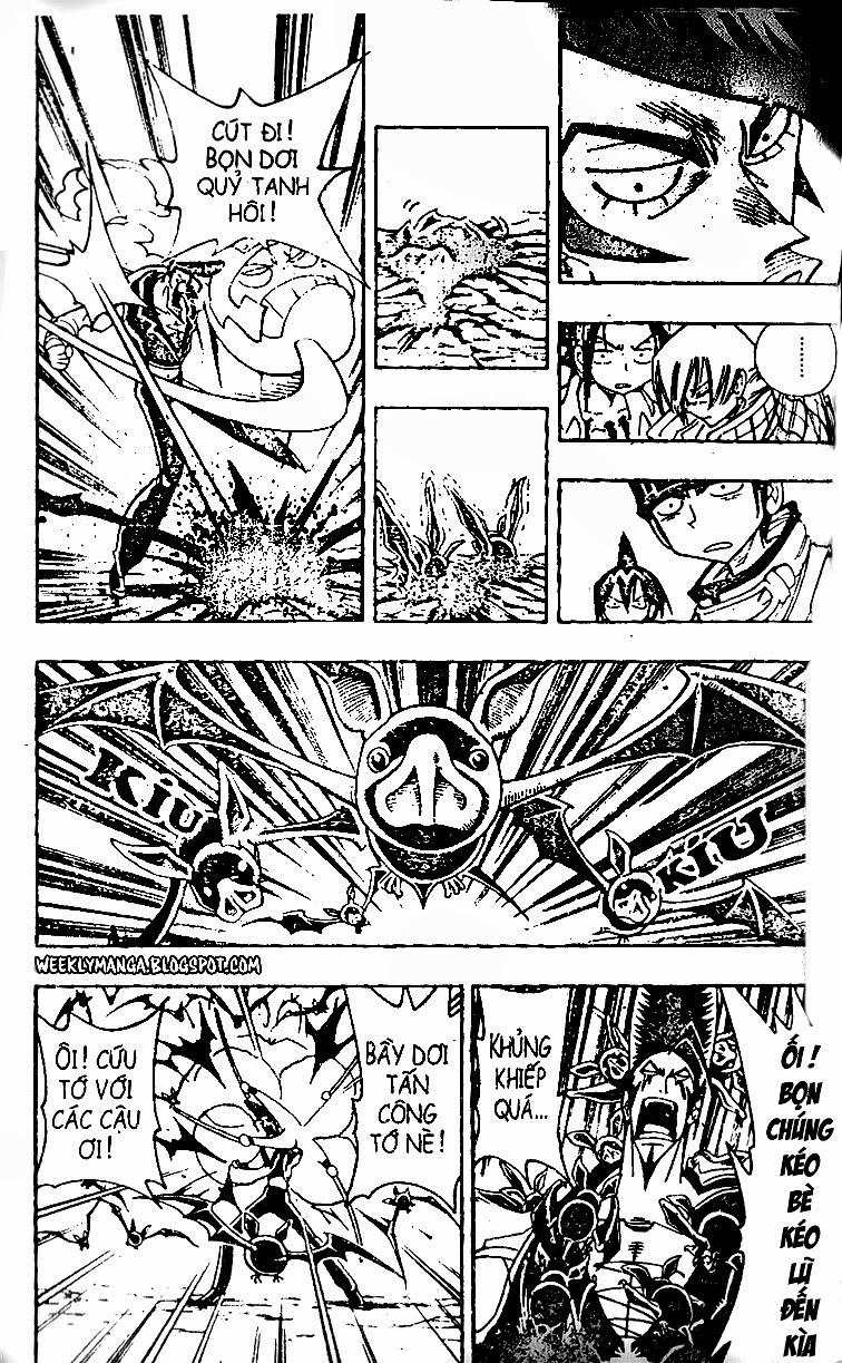 Shaman King [Vua pháp thuật] chap 98 trang 6