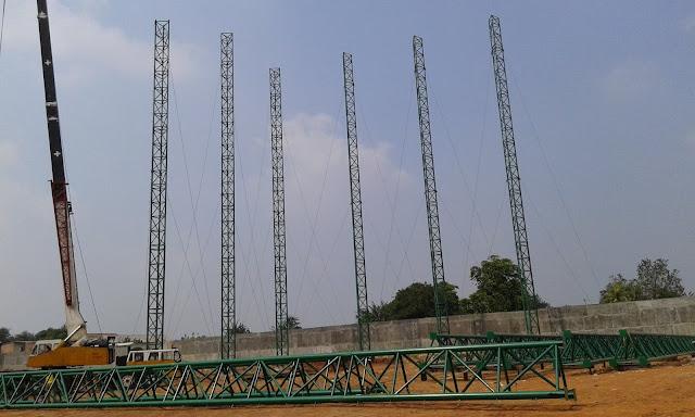 Structure Kolom Jaring,