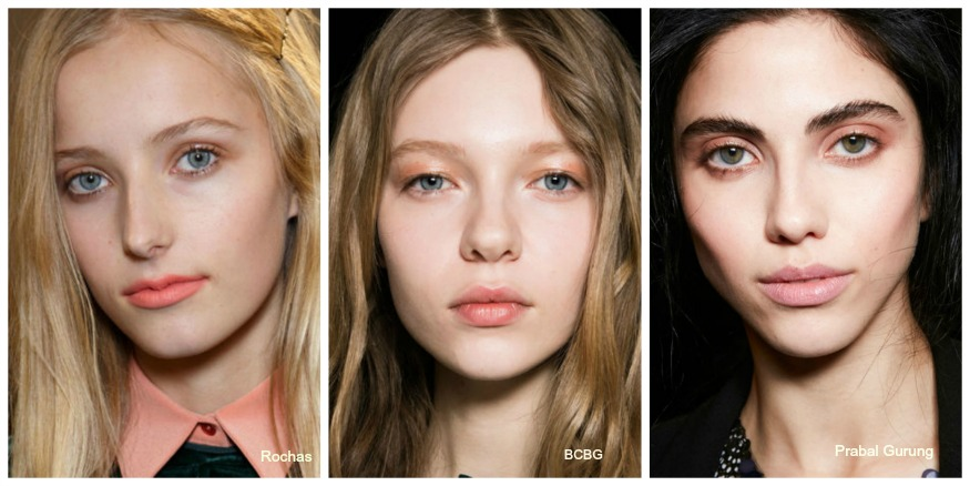 Fall 16 Makeup Trends Peachy Eyes