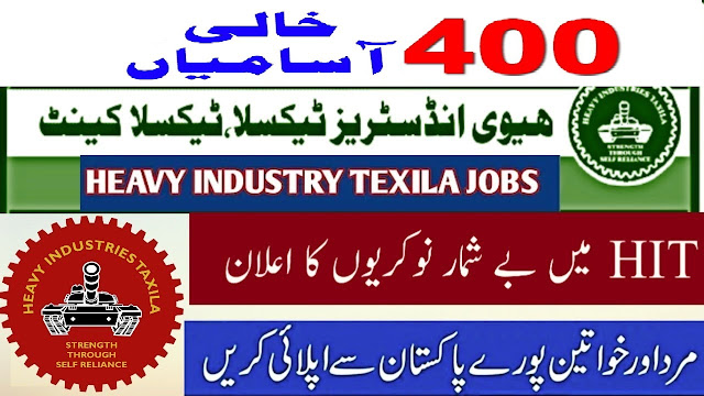 HEAVY INDUSTRIES TAXILA JOBS 2020 APPLY NOW