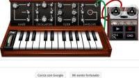 Suonare il sintetizzatore musicale Moog su Google