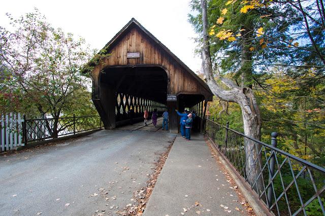 Covered bridge road-Woodstock