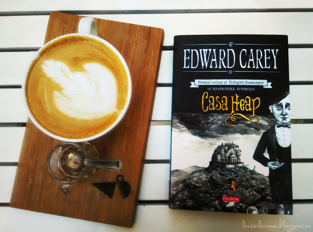 Casa Heap roman Edward Carey