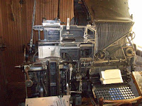 Old-fashioned machines and equipment