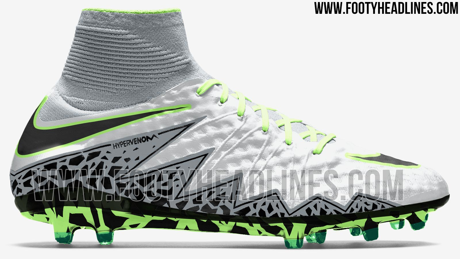 pure platinum nike hypervenom phantom ii 2016 17 boots. Black Bedroom Furniture Sets. Home Design Ideas
