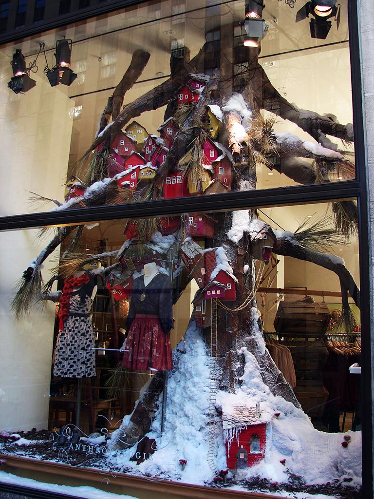 "Beautiful Window Displays!: Anthropologie ""Tree Farms ..."