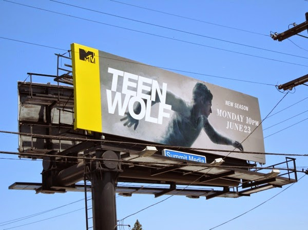 Teen Wolf season 4 MTV billboard