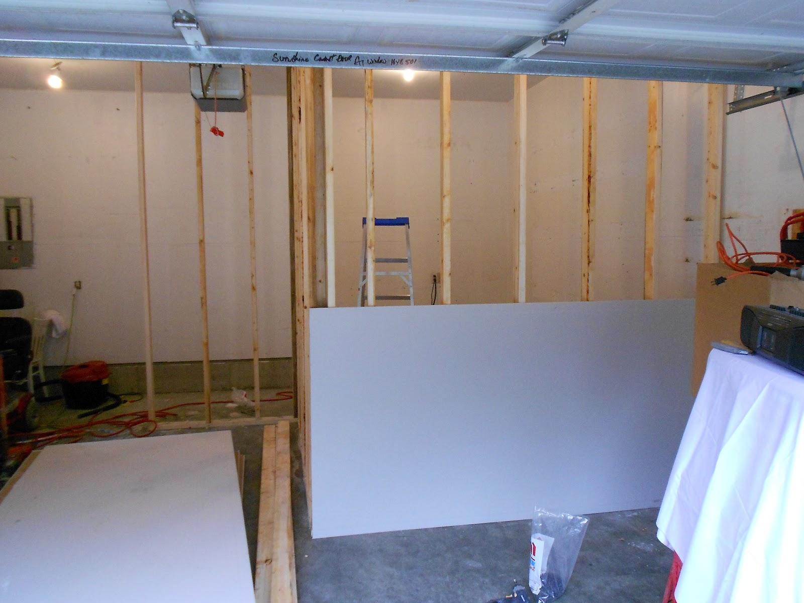 Mycarpentry Office Craft Room Garage Build