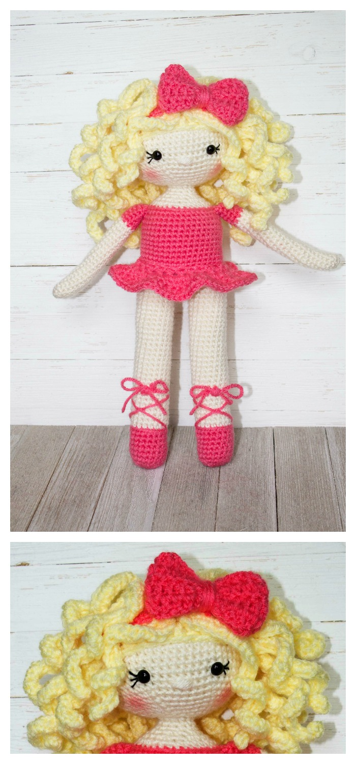 30 Amigurumi Crochet Doll Toys Free Patterns | Crochet dolls free ... | 1500x700