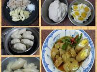 Resep dan cara membuat Empek empek Udang Kering/Udang Rebon
