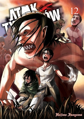 Hajime Isayama - Atak Tytanów t.12