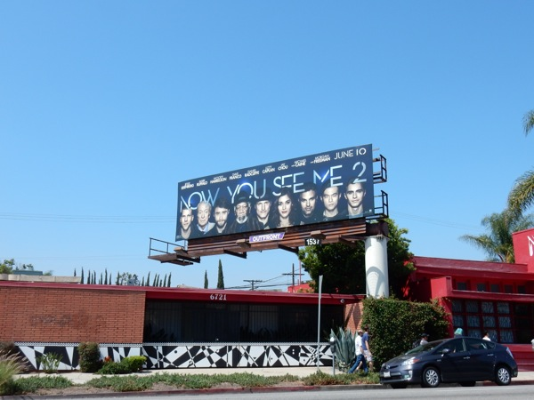 Now You See Me 2 film billboard