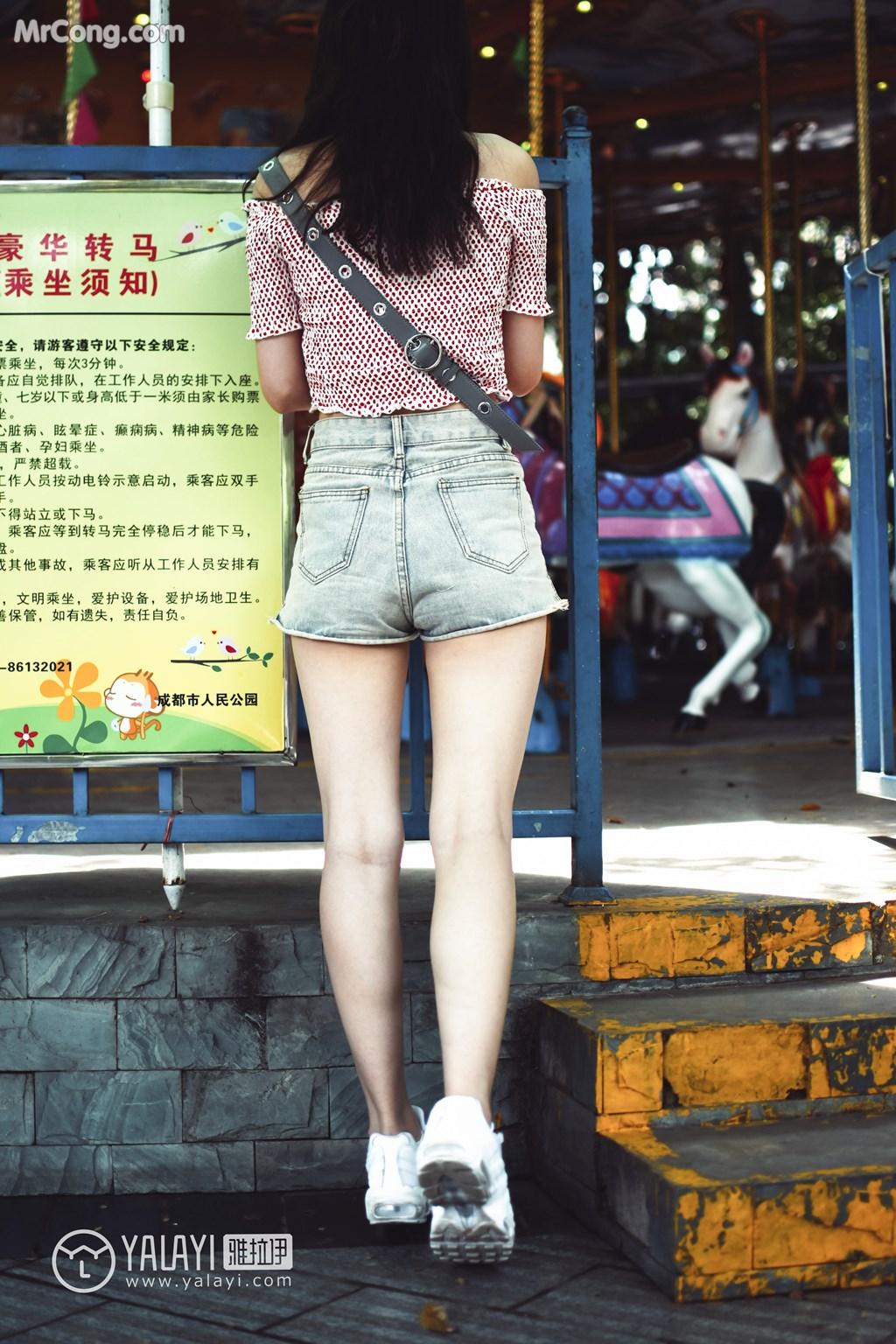 Image YALAYI-No.006-MrCong.com-007 in post YALAYI No.006: 叶肖肖 (62 ảnh)