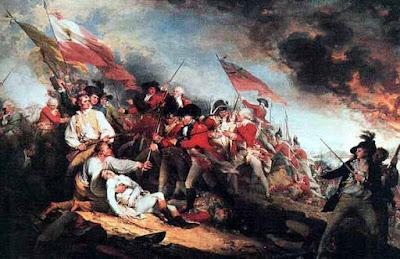 Peter Salem at Bunker Hill