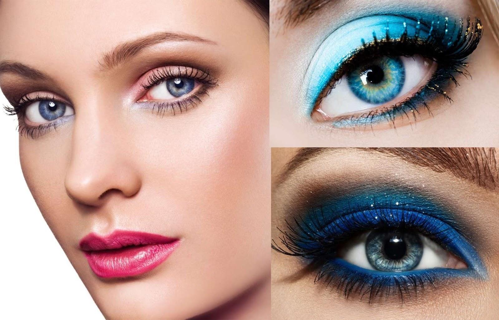 Molto Unconventional Secrets: Trucco occhi azzurri  BX88