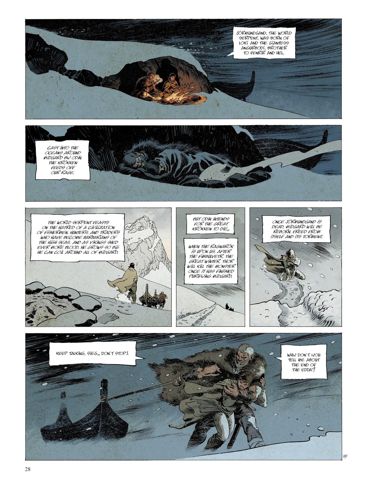Read online Asgard comic -  Issue #2 - 30