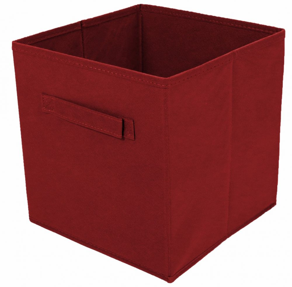 Tidy Living  Red Foldable Fabric Drawer