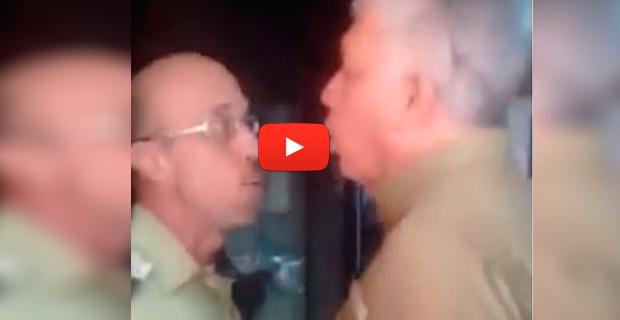 Director de la Policía de Chacao se comporta como un troglodita contra un funcionario