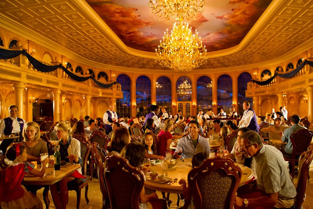 Restaurante Be Our Guest Magic Kingdom