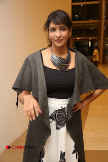 Actress Lakshmi Manchu Pos at Asian Para Badminton Championship Winners Felicitation Ceremony  0034.JPG