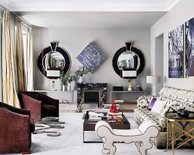 Extravagant Living Room