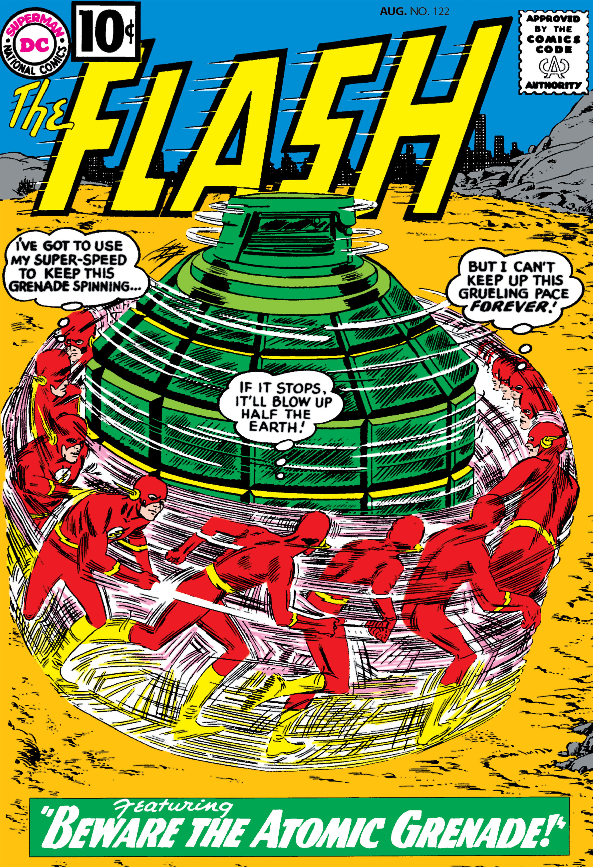The Flash (1959) 122 Page 1