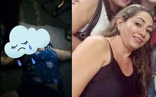 Motoqueiro atropela e mata mulher na cidade de Jaguaribe-CE