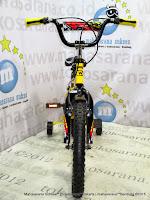 Sepeda Anak Laki-Laki Wimcyce Demon BMX 18 Inci