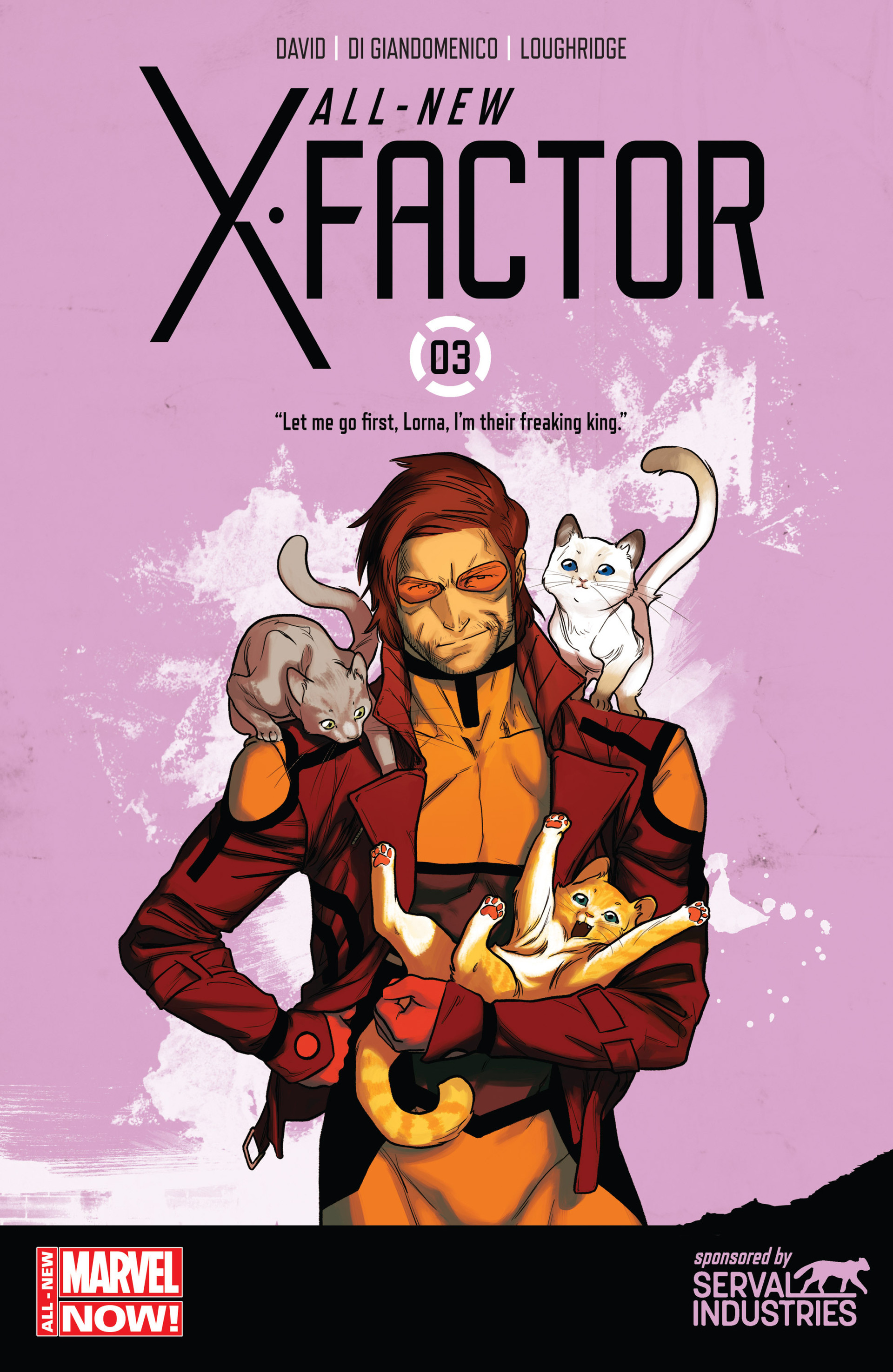 Read online All-New X-Factor comic -  Issue #3 - 1