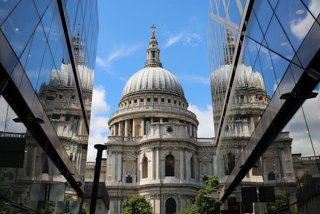The Butterfly Balcony - Sewing, Stadiums & Steam - St Paul's Cathedral