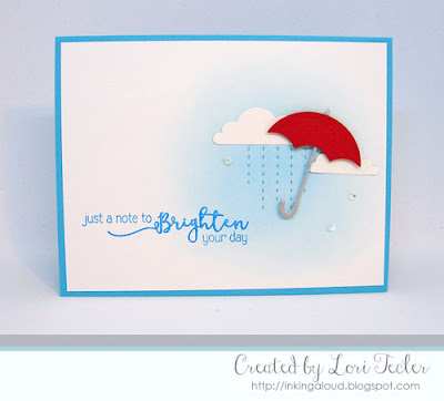 Brighten Your Day card-designed by Lori Tecler/Inking Aloud-stamps and dies from SugarPea Designs