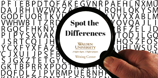 Spot the Differences: Checking your references list for consistency