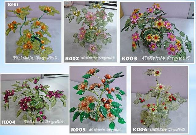 Mungkin Telah Jemu Dengan Resepi Dan Gambar Masakan Apa Kata Kita Ubah Selera Menatap Gubahan Pokok Bunga Kristal Handmade Hasil Kreativiti Rakan