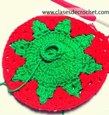clases crochet, patrones gratis, agarradera crochet