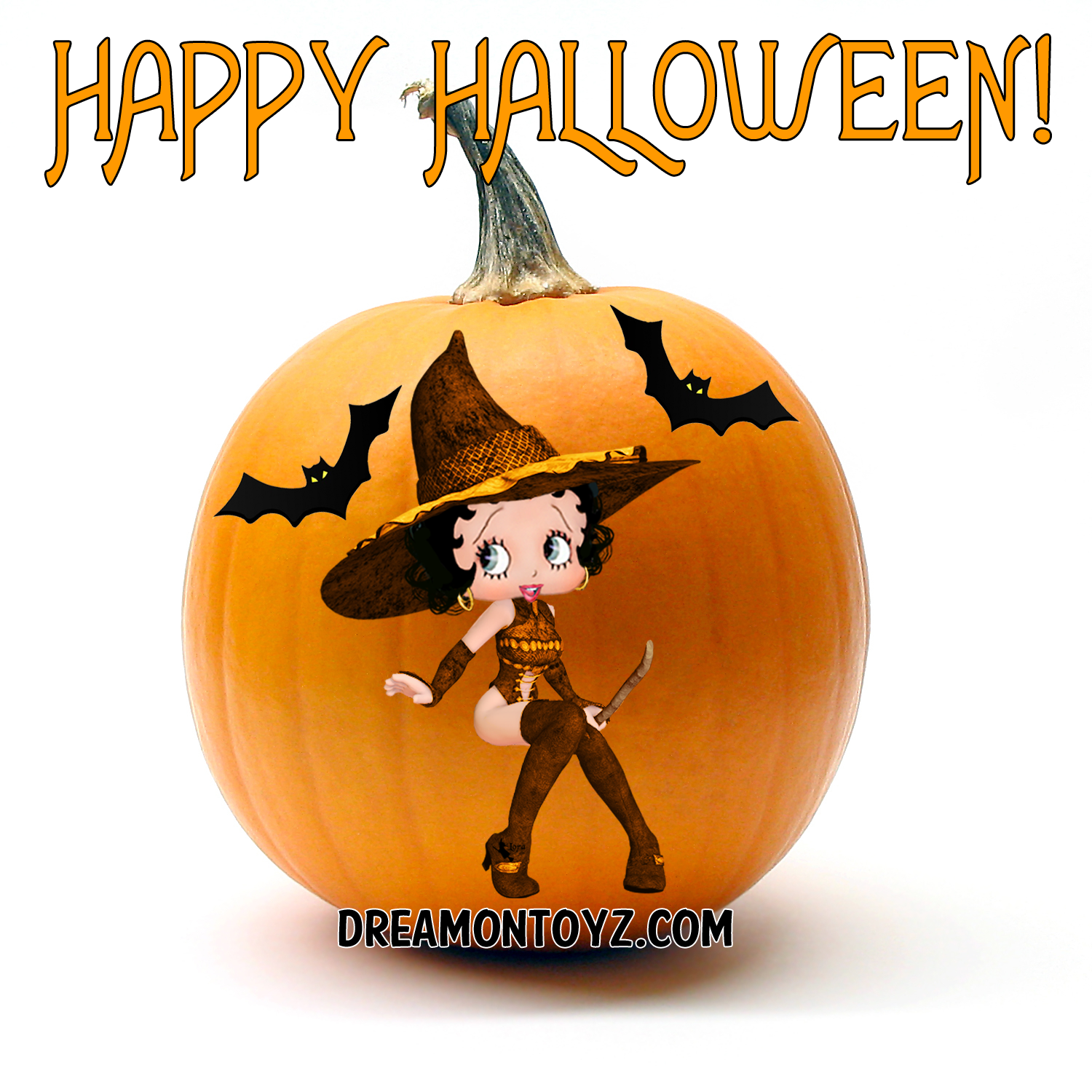 Betty Boop Pictures Archive - BBPA: Betty Boop Halloween ...