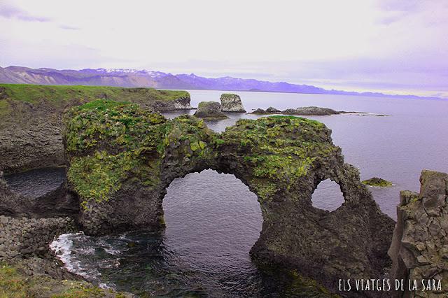 Dia 8: Ruta llarga visitant Hvammstangi, Kirkjufellsfoss, Búðakirkja i Arnarstapi