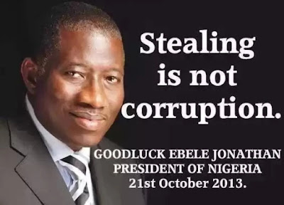 money looted under jonathan