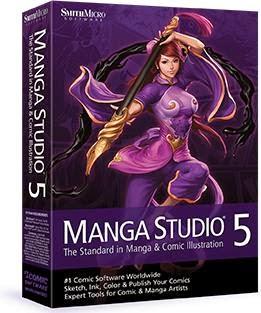 Manga Studio EX 5.0.4 Full Crack