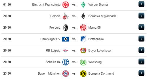 Jadwal Liga Jerman Sabtu 8 April 2017