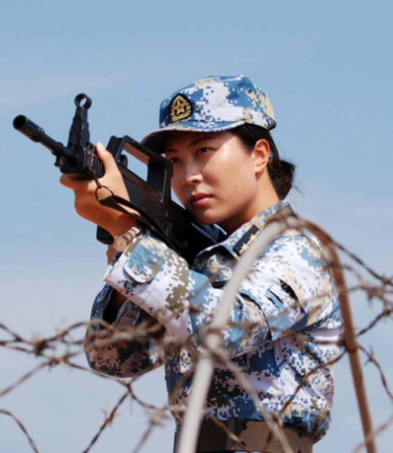 Chitchat - Where To Find This Kind Of Woman Officer In The -9259